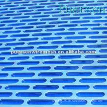 Niedrige Kohlenstoffstahl-gestanzte / perforierte Metallbleche (Fabrik + Compny)