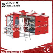 Высокая скорость 6 Цвет Флексографическая печатная машина с усовершенствованным качеством