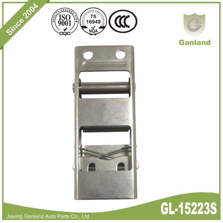 Stainless Tautliner Buckle GL-15223S-4