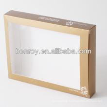 Напечатанная Ясная Коробка окна PVC Упаковывая с изготовленным на заказ типом