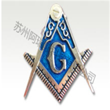 Fine Workmanship Zinc Alloy Nameplate