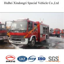 6ton Isuzu Foam Tender Firefighting Vehicle Euro3