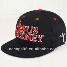 custom supreme black flat bill snapback hats