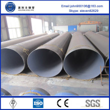 China Supplier ST35-ST52 corrugated galvanized steel pipe made in china
