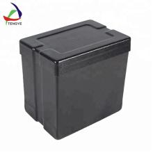 Boîtier en plastique avec couvercle Boîte de rangement pour outils de sécurité dures avec clips
