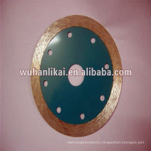 alloy steel material diamond sintered porcelain disc to cut