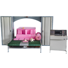 CNC contour cutting machine with rotary table