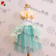 2018 New Frock Design Unicorn Dress For Girls