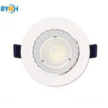 10W 80LM/W Epistar COB Round LED Down Light