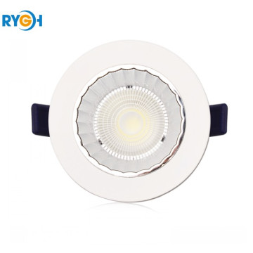 10W 80LM / W Epistar COB Round LED Down Light