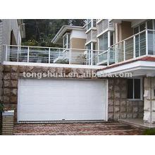 sandwich style sectional garage door