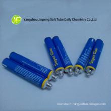 Tube en aluminium de Packaging pour la Super colle