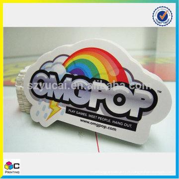 Etiqueta de folha de arco-íris de preço de fábrica feita na China