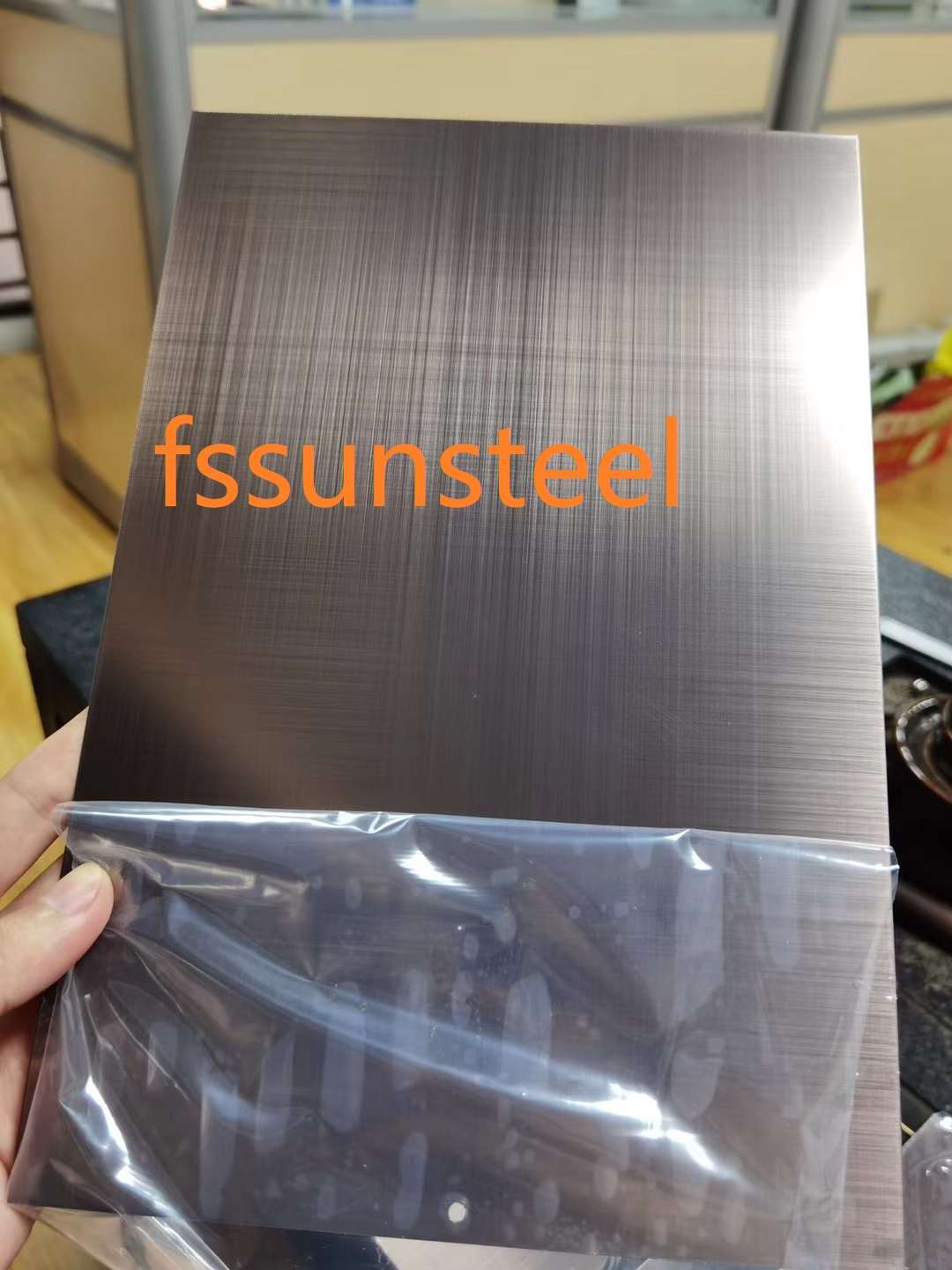 Hairline Decorative Stainless Steel Sheet