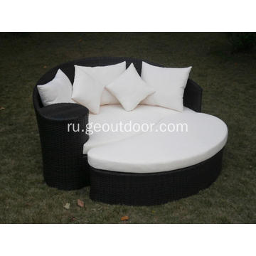 Outdoor+Garden+Rattan+Sun+Bed+Beach+Lounge