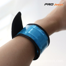 Reflective+Safety+Fluo+Blue+PVC+Wrap+Band