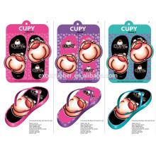 rubber customize printed eva slipper