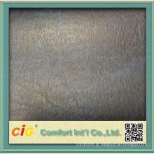 Boa qualidade tecido de cobertura de assento de couro de PVC