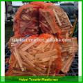 al por mayor bolsas de embalaje de leña de malla con cordón