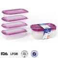 Thailand-leicht geöffneten Ofen sicher Gewicht Kunststoff Lunchbox