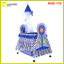 New model design safe hanging baby crib with cradle