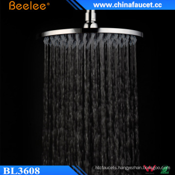 Brass Fitting Rotating 202mm 8 Inch Ceiling Wall Overhead Shower