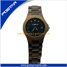 New Style Promotional Gift Wooden Watch Epoch Ladies Quartz Watch