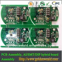Assemblée de conception de carte PCB china pcba appliquée dans l'équipement .medical industriel