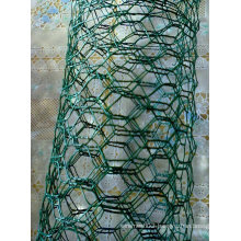 PVC-Coated Hexagonal Wire Mesh 2′′x0.66mmx1.5mx50m