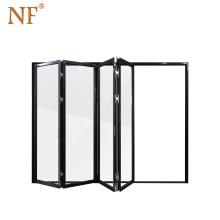 Vacuum insulating french bifold glass window