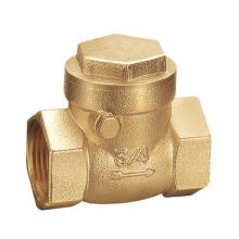 female threaded non-return brass swing check valve for water system