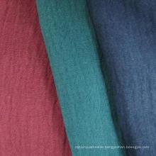 55%Linen 45%Cotton Fabric, Crepe Cotton Linen Fabric
