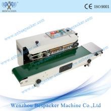 Máquina automática de sellado de bolsa continua de cuerpo de hierro