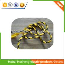 diversa cuerda de alta calidad del color PP / PE usada para el bolso del envase