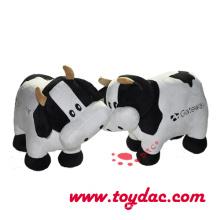 Плюшевые игрушки корова животных