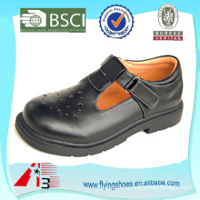 customize strap velcro school shoes for girl