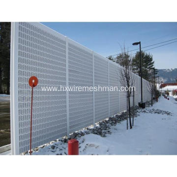 Perforated Metal Sound Barriers