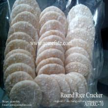 Koreanischen weißen runden Reis Cracker