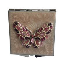 Mult-cor espelhos compactos de borboleta