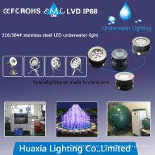 316stainless Steel IP68 LED Swimming Underwater Pool Light