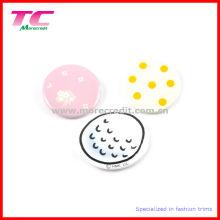 Insignias personalizadas de botones de metal impresas personalizadas para promoción