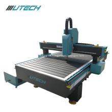 Máquina de enrutamiento CNC de carpintería de carril cuadrado de talla 3D