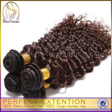 Export aus China tiefe Welle Virgin Remy indisches Haar Lieferant