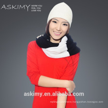 Fashionable hot sale winter knitted round scarf