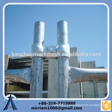 Alta calidad fuerte temporal cerca abrazadera construcción valla clip galvanizado temporal valla conjunta galvanizado temp valla conectar