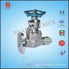 Vent guide drench valve gate valve