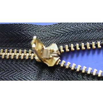Y Zähne Reißverschluss