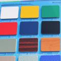 20 ans de garantie Haute qualité Alunewall Embossed PVDF panneau composite en aluminium enduit 3mm / 4mm / 5mm