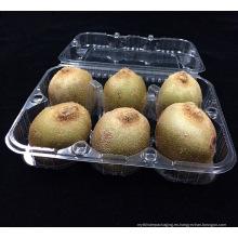 caja de embalaje plástica de la fruta de kiwi de la impresión personalizada (bandeja de la comida)