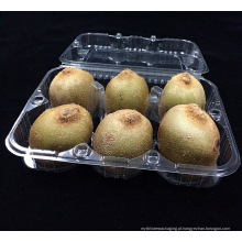 caixa de embalagem plástica da fruta de quivi da impresso feita sob encomenda (bandeja do alimento)